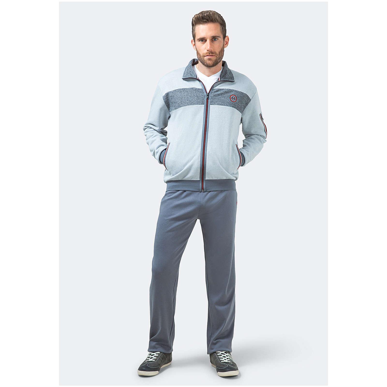 Hajo Homewear-Anzug Anzüge hellgrau Herren Gr. 50