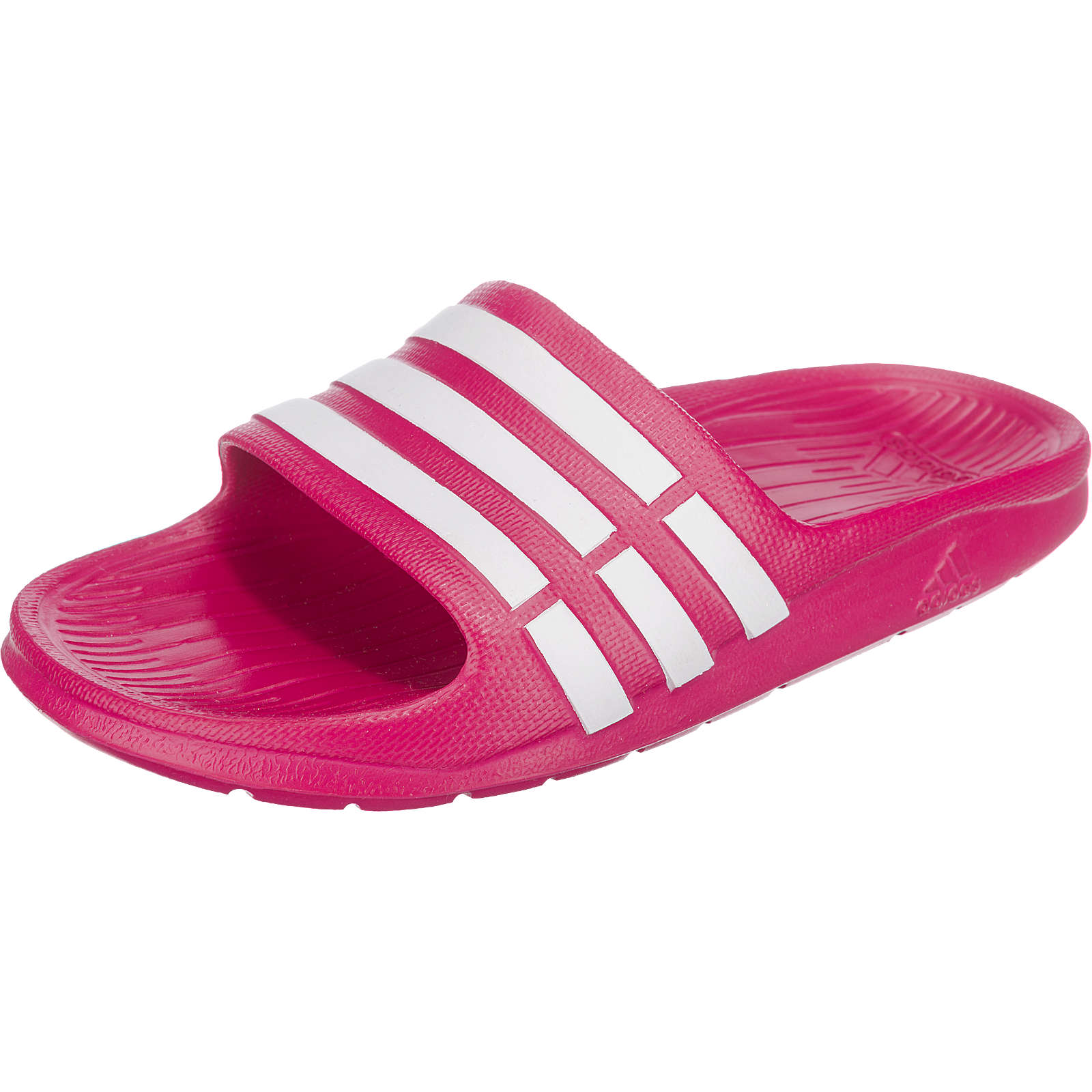 adidas Performance Badelatschen Duramo Slide K für Mädchen pink Mädchen Gr. 30