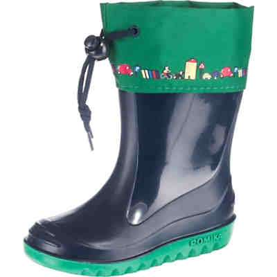 76c6124b8a592 Playshoes, Kinder Gummistiefel Waldtiere gefüttert, grün   mirapodo