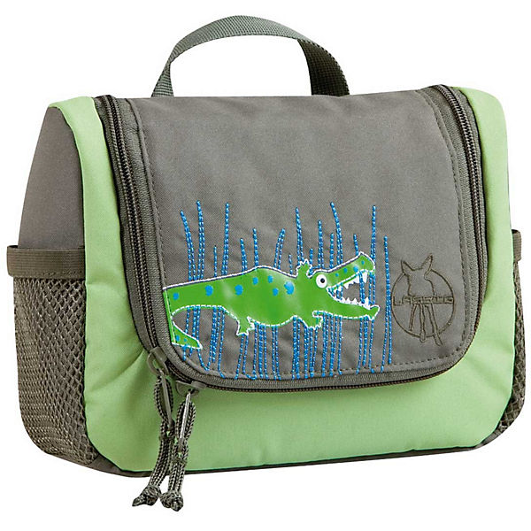 Kulturbeutel 4kids, Mini Washbag, Crocodile