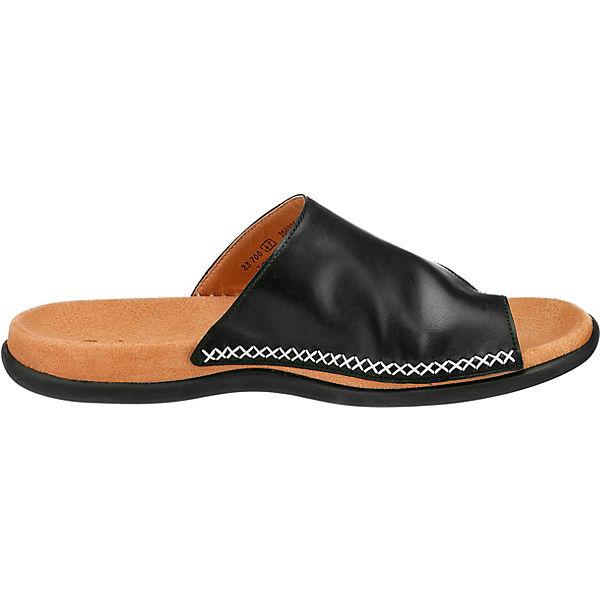 Gabor, Gabor Pantoletten, beliebte schwarz  Gute Qualität beliebte Pantoletten, Schuhe 388b89