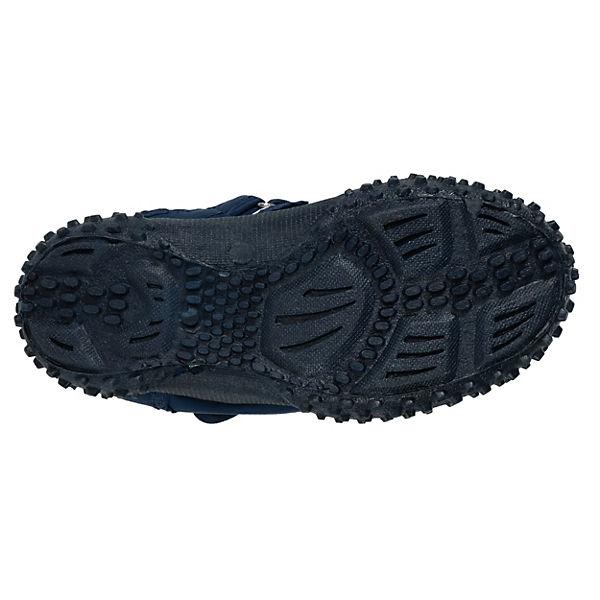 Playshoes Baby Aquaschuhe mit UV-Schutz MARITIM blau/weiß