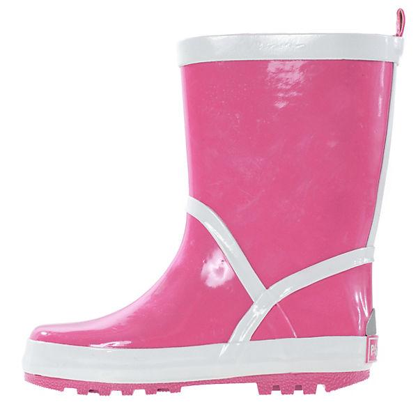 Playshoes Kinder Gummistiefel pink
