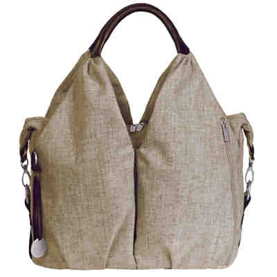 Wickeltasche Greenlabel, Neckline Bag, Choco Melange