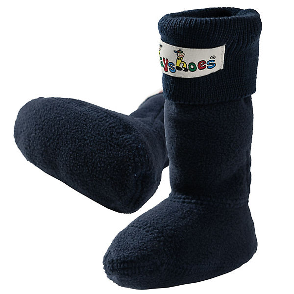 PLAYSHOES Kinder Fleece-Stiefel-Socke