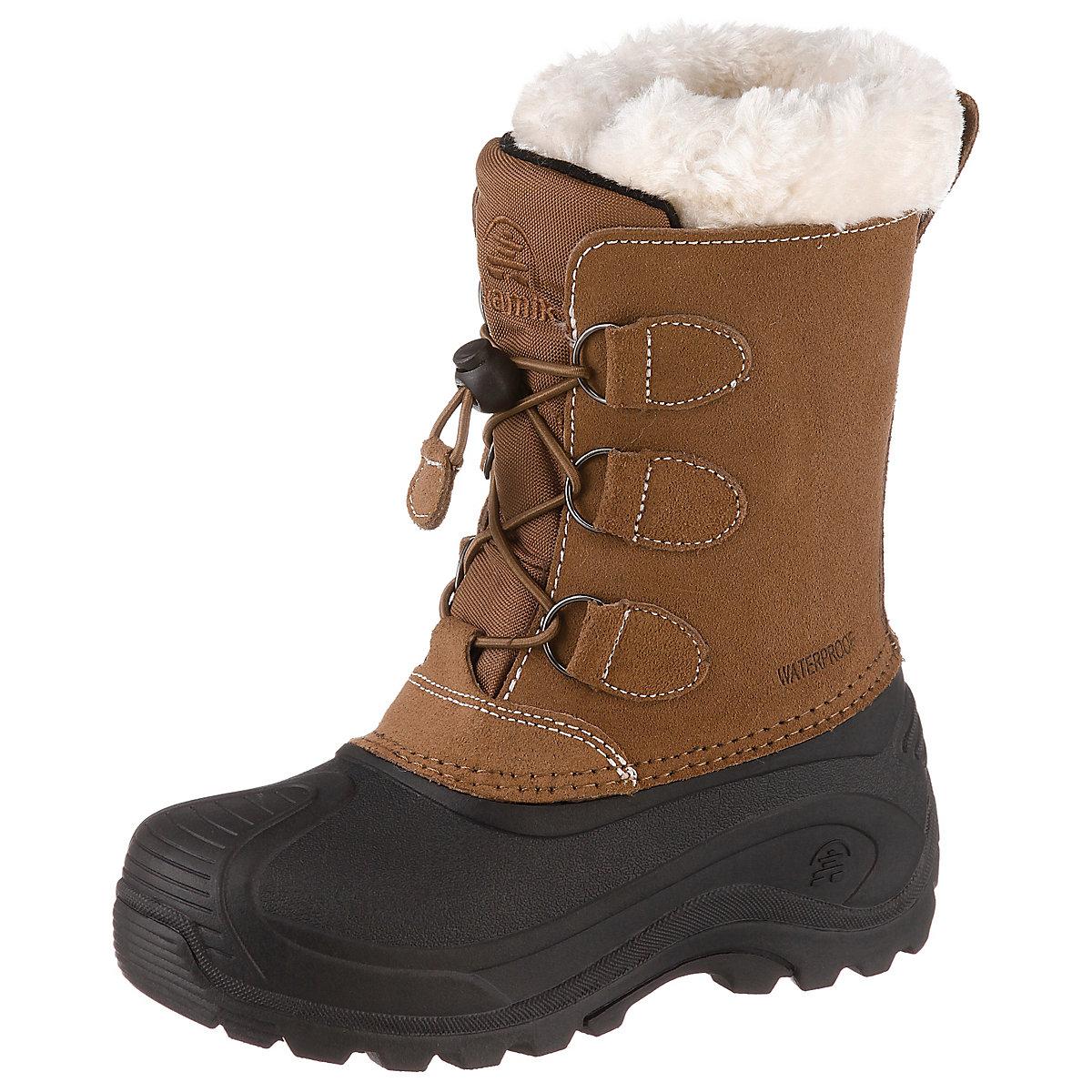 kamik winterstiefel snowdasher2 waterproof f r jungen braun mirapodo. Black Bedroom Furniture Sets. Home Design Ideas