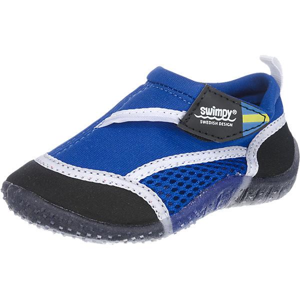 SWIMPY Kinder Aquaschuhe blau