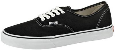authentic sneaker low schwarz