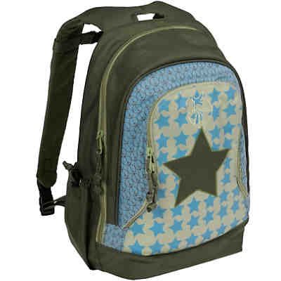 Schulrucksack groß 4kids, Backpack Big, Starlight oliv