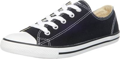 CONVERSE, Chuck Taylor All Star Dainty Ox Sneakers Low, schwarz