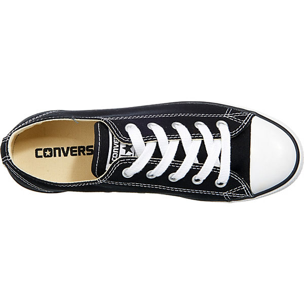 CONVERSE, Chuck Taylor All Low, Star Dainty Ox Sneakers Low, All schwarz   2858fa