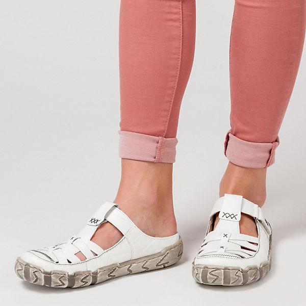 rieker rieker Pantoletten weiß  Gute Qualität beliebte Schuhe
