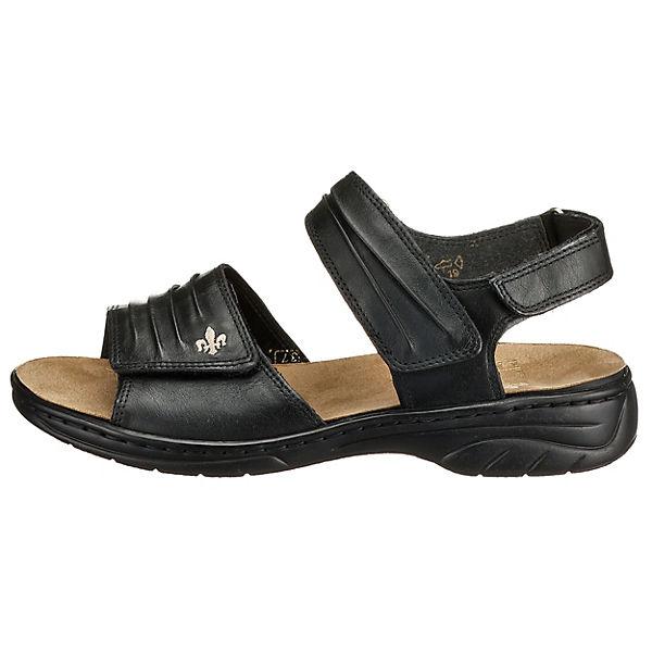 rieker, Roy Klassische Qualität Sandalen, schwarz  Gute Qualität Klassische beliebte Schuhe ddb73f