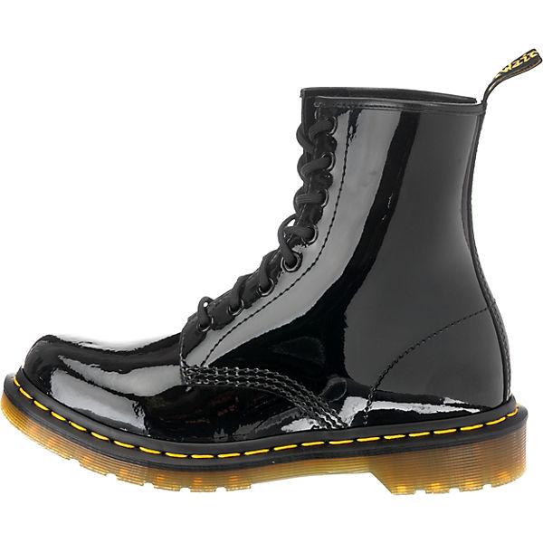 Dr. Martens, Gute 1460 Patent Black Schnürstiefeletten, schwarz  Gute Martens, Qualität beliebte Schuhe 120ace