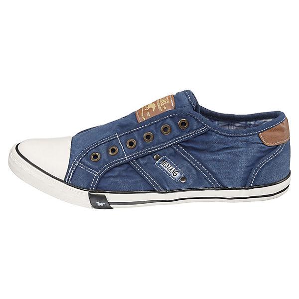 MUSTANG  Sneakers Low  blau