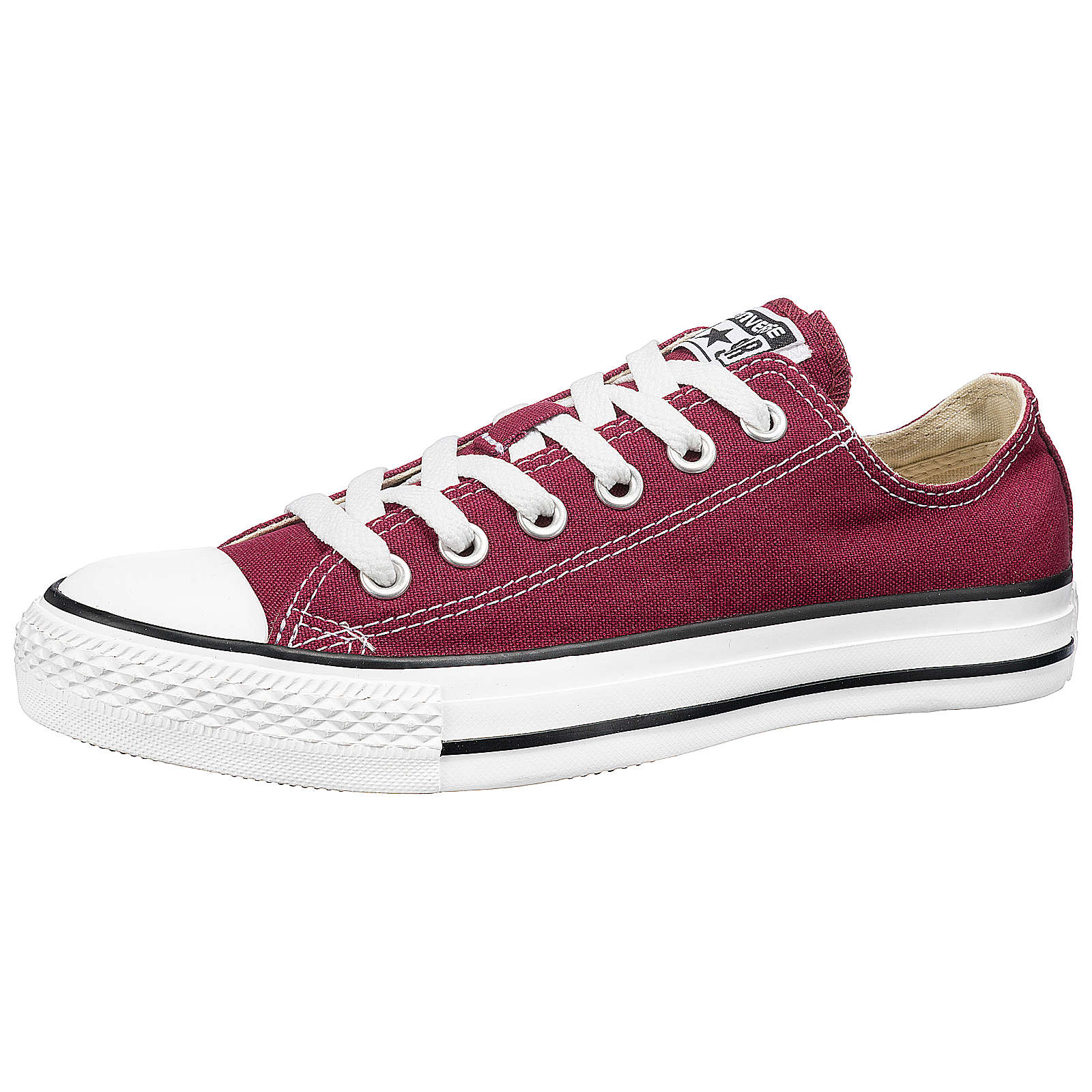 CONVERSE All Star Ox Sneakers Low dunkelrot Gr. 36