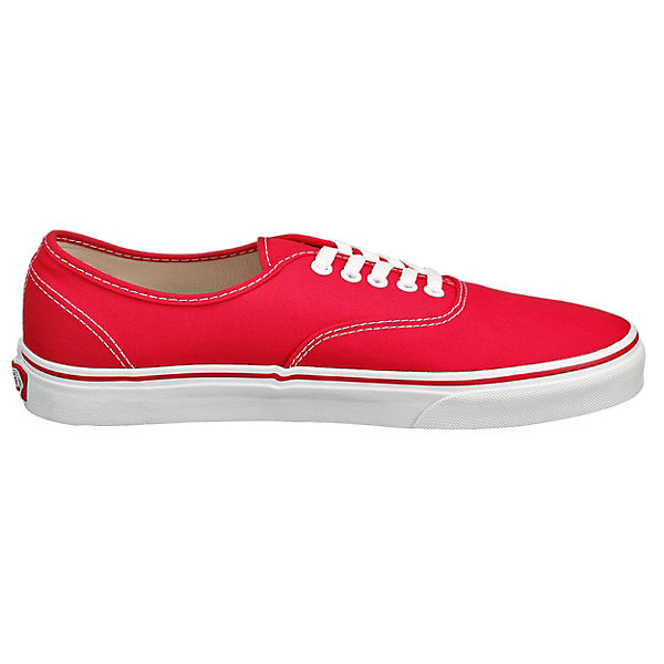 Authentic rot Authentic VANS Sneakers Authentic VANS rot Sneakers Sneakers VANS VANS rot VANS VANS 6qw4F8