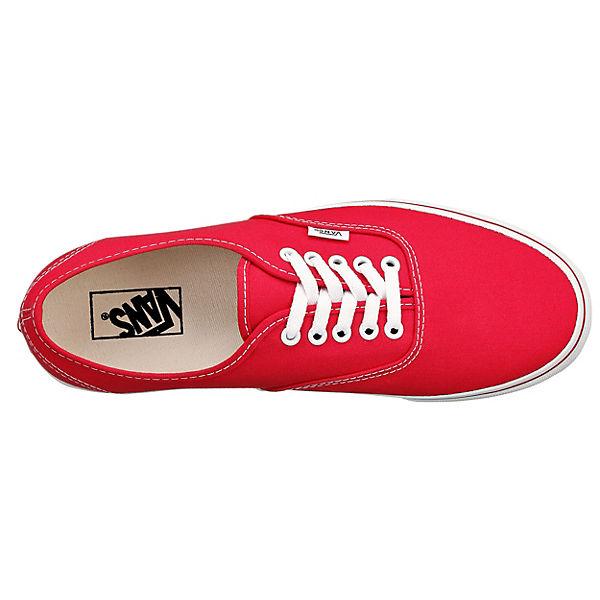 Sneakers rot VANS Authentic VANS VANS VANS P7zIqPg