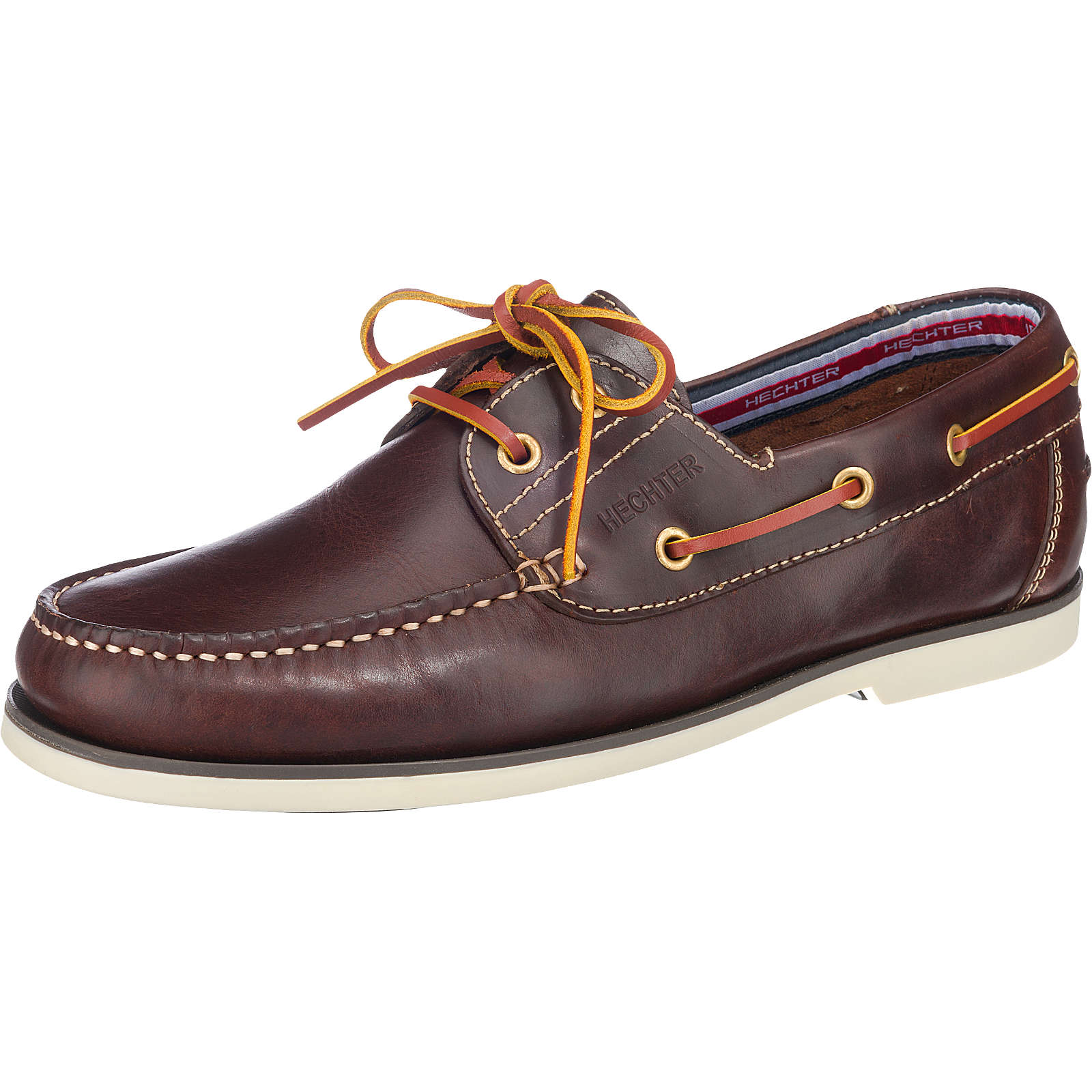DANIEL HECHTER Freizeit Schuhe dunkelbraun Herren Gr. 44