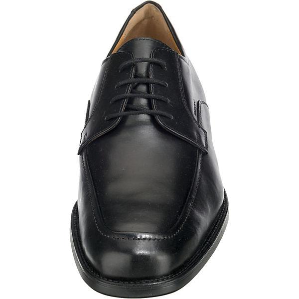 GEOX, Federico Business-Schnürschuhe, schwarz schwarz Business-Schnürschuhe,   236acd