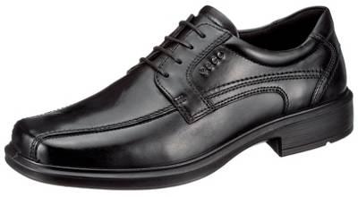 ecco, Business Schuhe, schwarz