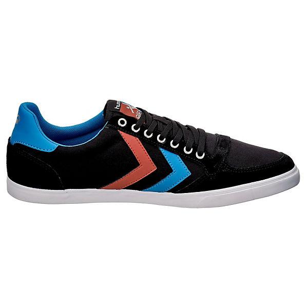 hummel, Slimmer Stadil Sneakers beliebte Low, schwarz-kombi  Gute Qualität beliebte Sneakers Schuhe 90b611