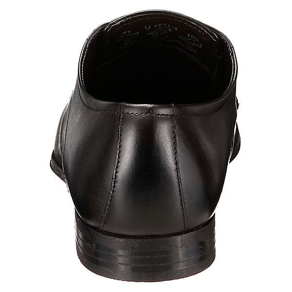 bugatti, Mattia Business-Schnürschuhe, schwarz schwarz schwarz  Gute Qualität beliebte Schuhe 6a24b7