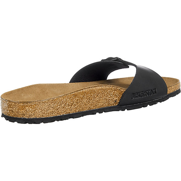 BIRKENSTOCK, Madrid schmal Komfort-Pantoletten, schwarz Schuhe  Gute Qualität beliebte Schuhe schwarz 4c135f