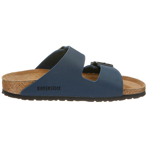 BIRKENSTOCK,  Arizona schmal Komfort-Pantoletten, blau  BIRKENSTOCK, Gute Qualität beliebte Schuhe 065977
