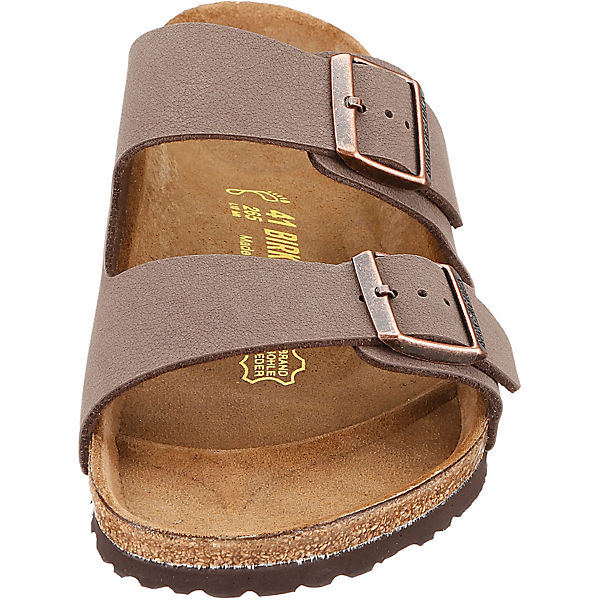 BIRKENSTOCK, Arizona weit Pantoletten, beliebte hellbraun  Gute Qualität beliebte Pantoletten, Schuhe 76e7bc