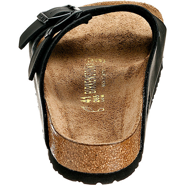 BIRKENSTOCK, Arizona weit Komfort-Pantoletten, schwarz Schuhe  Gute Qualität beliebte Schuhe schwarz 41f521