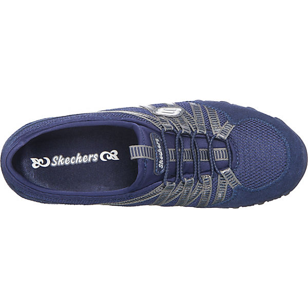 SKECHERS Bikers Hot-Ticket Sportliche Slipper blau