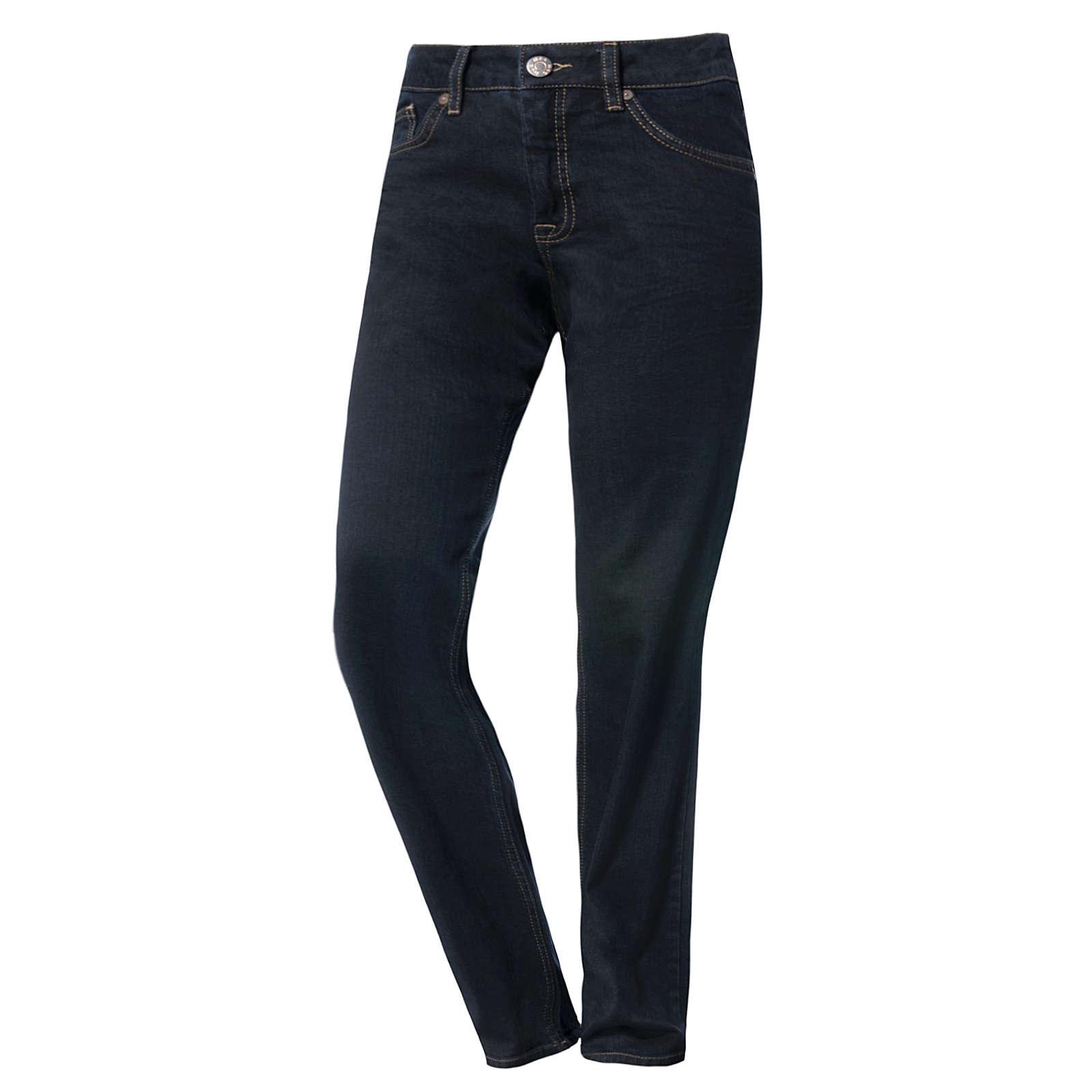 H.I.S. Jeans Straight Leg dark blue denim Damen Gr. 34/L33
