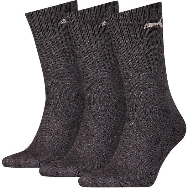 3 Paar PUMA Sportsocken Socken PUMA grau pS8Bw