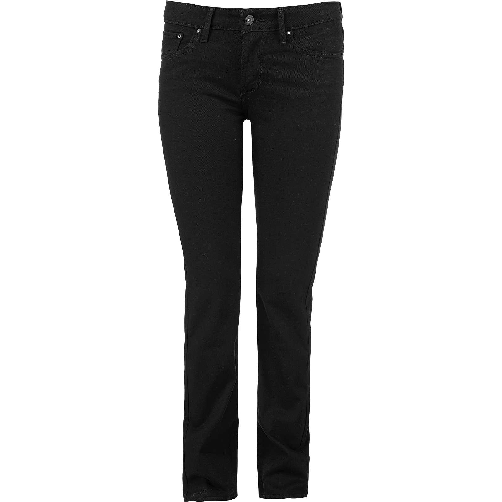 Levi´s® Jeans Demi Curve Straight Leg schwarz Damen Gr. W28/L34