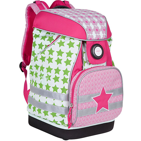 Schulranzen-Set 5-tlg., 4kids School Set, Starlight magenta