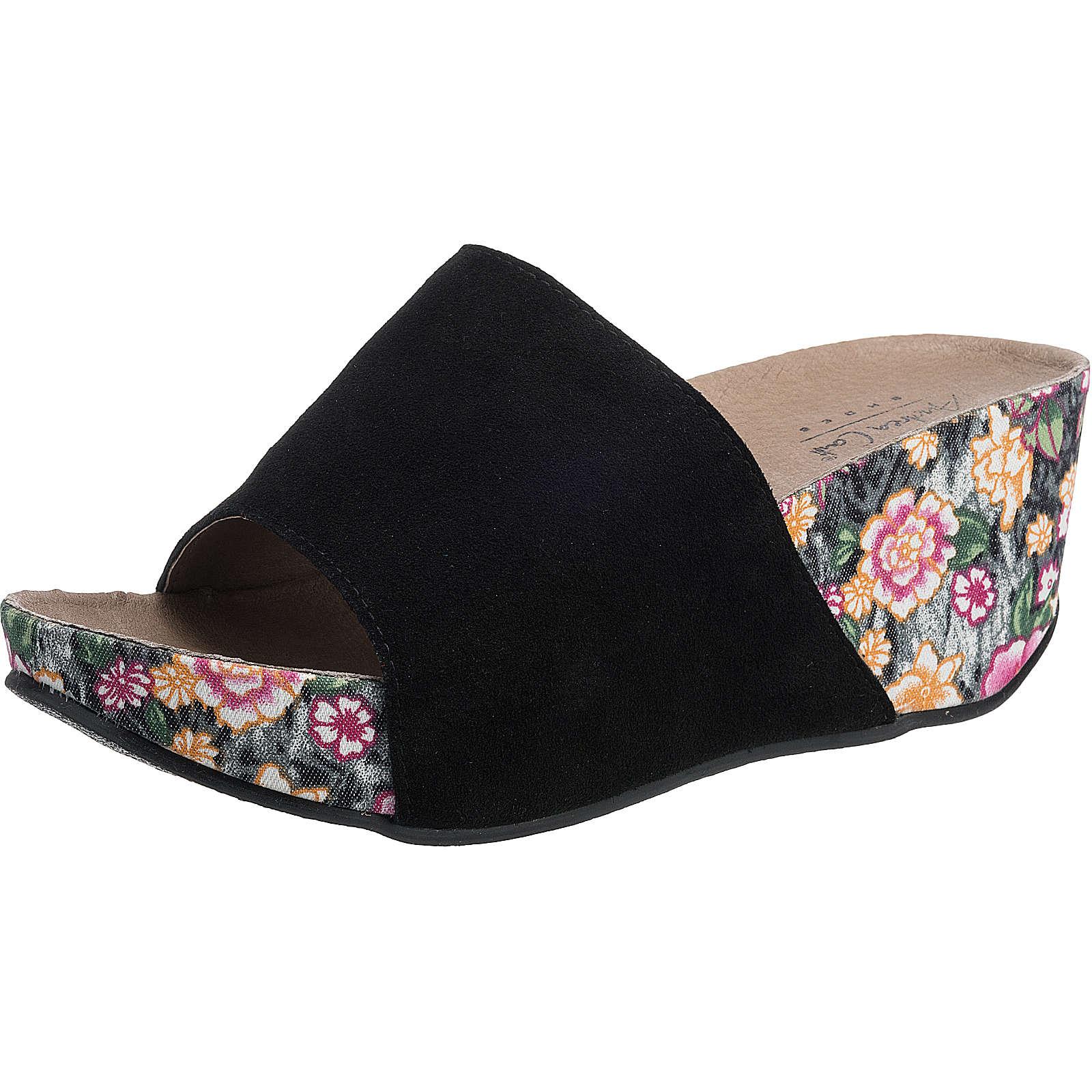Andrea Conti Pantoletten schwarz Damen Gr. 36 jetztbilligerkaufen