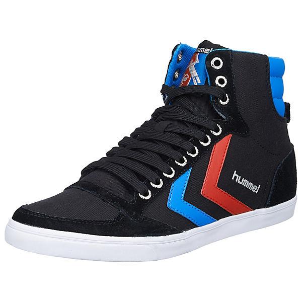 hummel hummel Slimmer Stadil High Sneakers schwarz-kombi