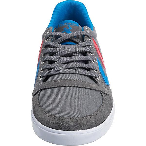 hummel, Slimmer Stadil grau-kombi Low Sneakers, grau-kombi Stadil   a49649