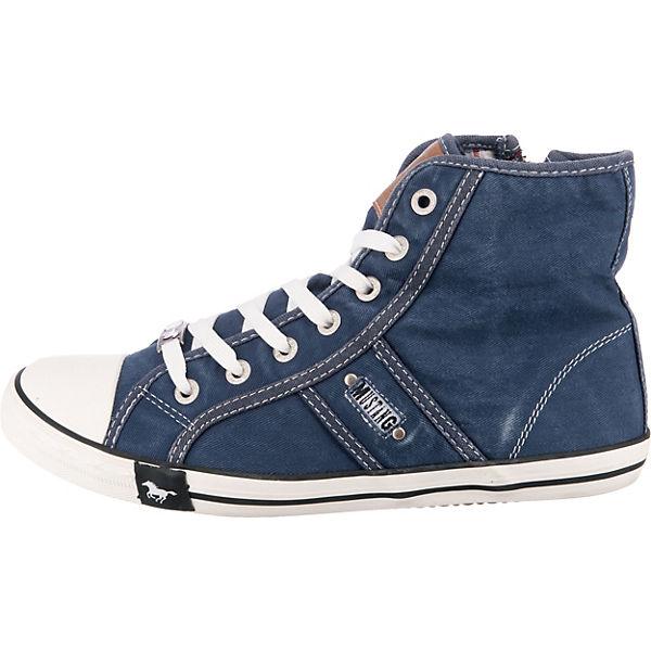 MUSTANG MUSTANG Sneakers dunkelblau Sneakers dunkelblau High High Sneakers MUSTANG dunkelblau Sneakers High MUSTANG xIH5q6g