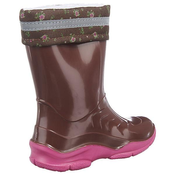 Die Spiegelburg Pferdefreunde Gummistiefel für Mädchen, gefüttert pink