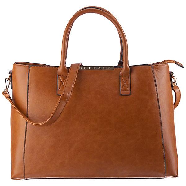 neues Erscheinungsbild echt kaufen am besten auswählen BUFFALO, Handtasche, cognac