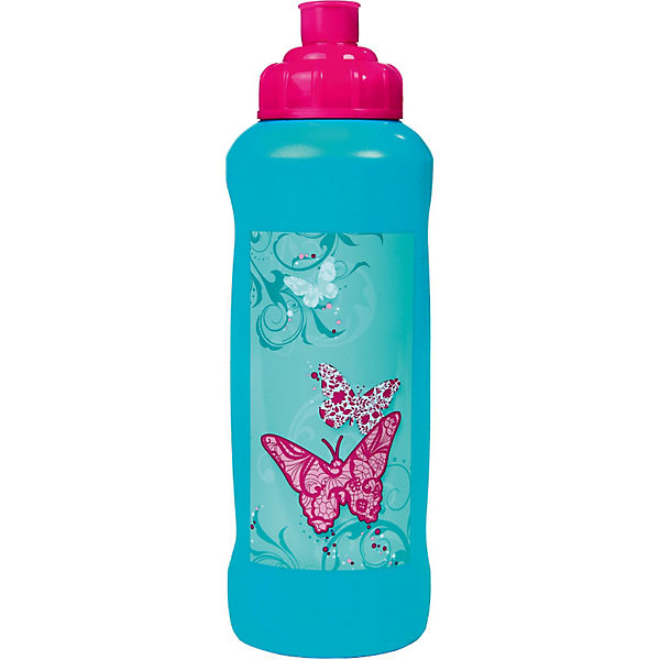 Trinkflasche Butterfly, 450 ml