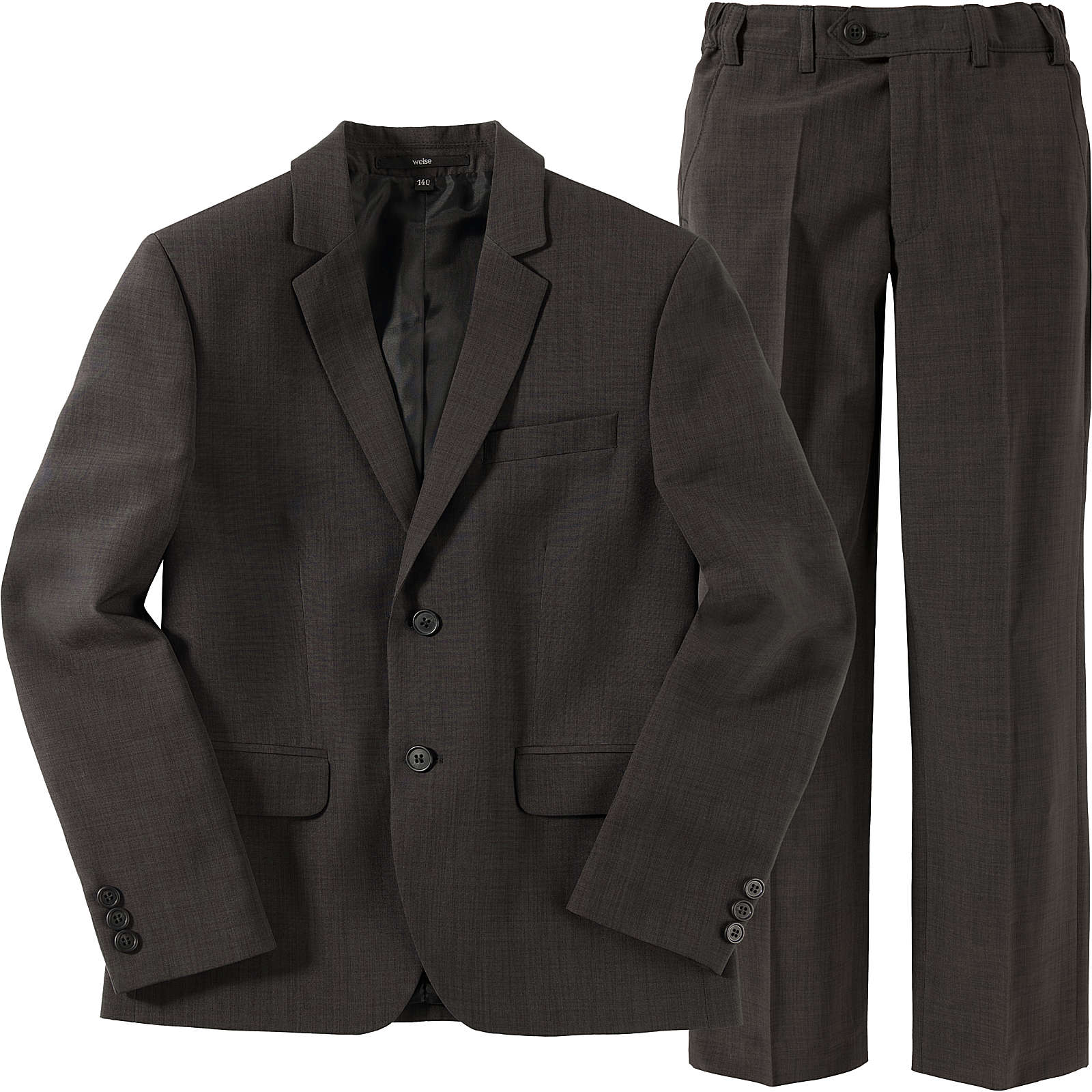 WEISE Kinder Anzug REGULAR anthrazit Junge Gr. 128
