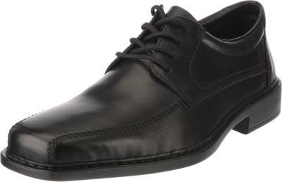 rieker, Business Schuhe, schwarz