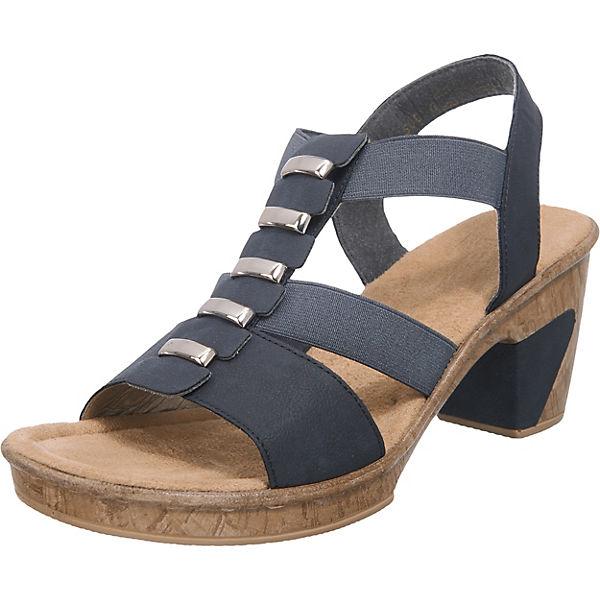 rieker rieker Sandaletten schwarz