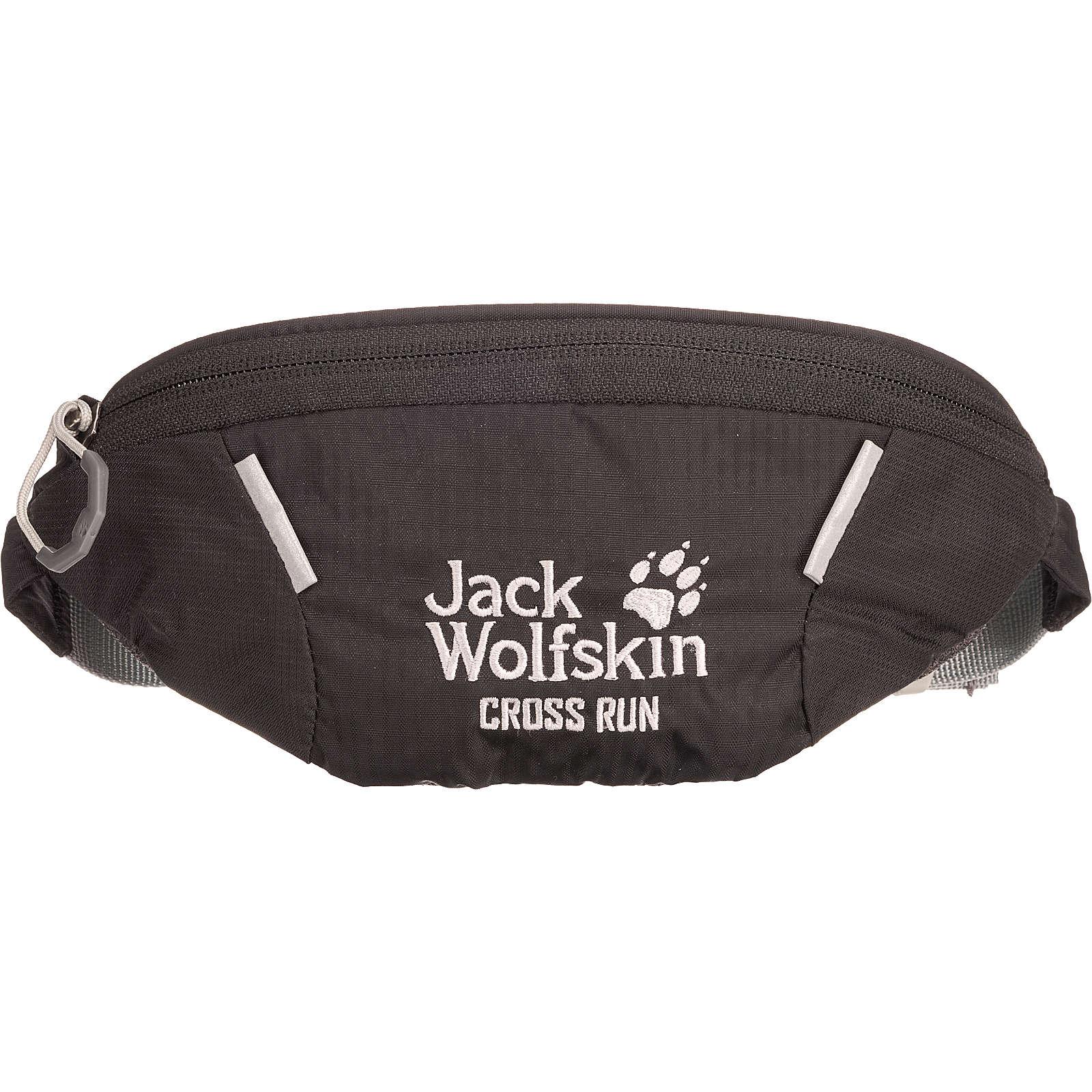Jack Wolfskin Bauchtasche Cross Run schwarz