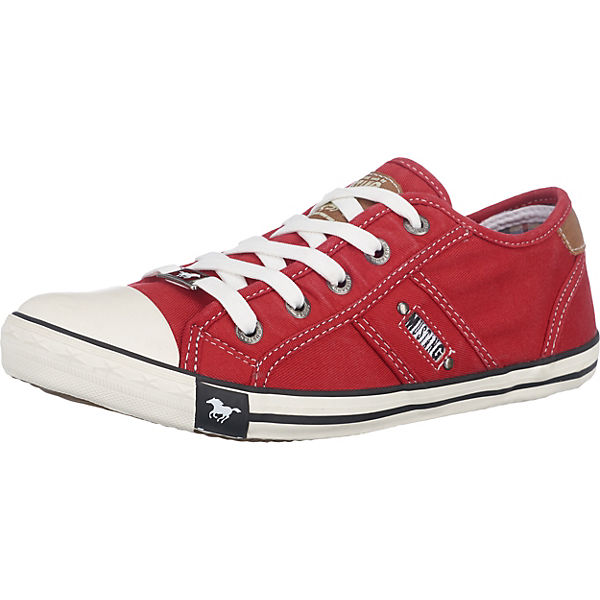 Mustang Low Mustang Sneakers Sneakers Sneakers Rot Rot Low Mustang dxBWroeCQE