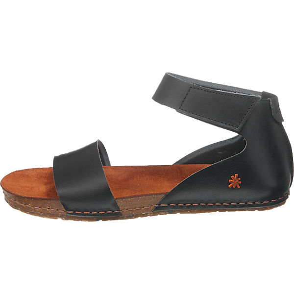 *art *art Creta Sandalen schwarz