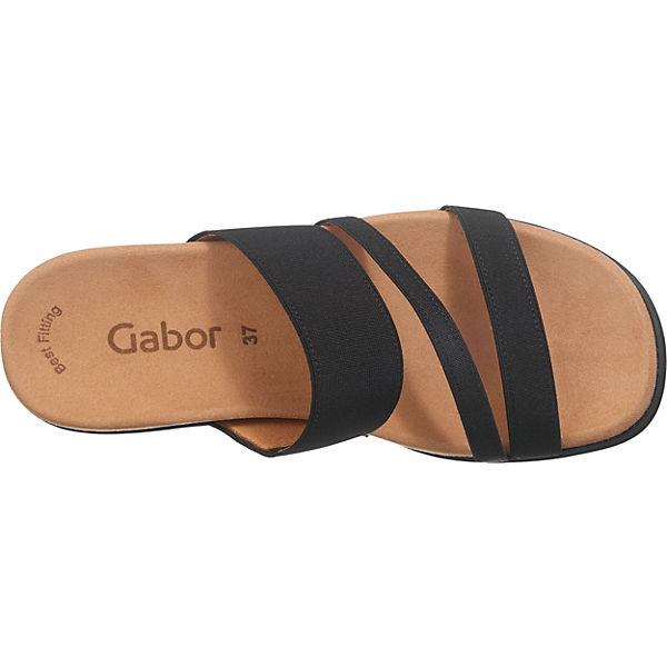 Gabor Pantoletten Gabor Gabor Gabor schwarz xHTnrHYqw